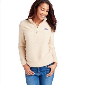 Vineyard Vines Fuzzy Soft Cozy Fleece Sweater